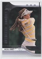Authentic Rookies - Nicole Hage #/999