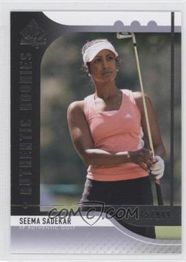 2012 SP Authentic - [Base] #83 - Seema Sadekar /999