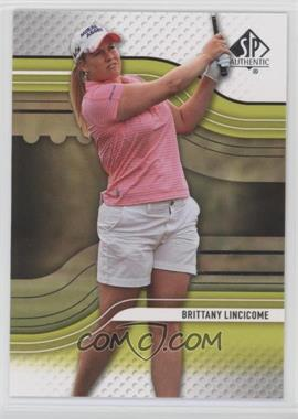 2012 SP Authentic - Rookie Extended Series #R24 - Brittany Lincicome
