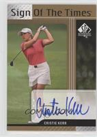 Cristie Kerr [Noted]