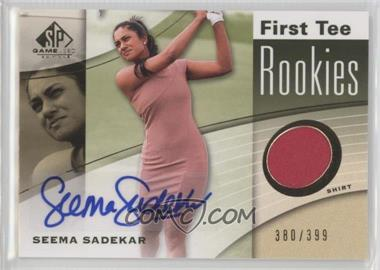 2012 SP Game Used Edition - [Base] #46 - Seema Sadekar /399