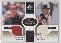 Hunter Mahan, Matt Kuchar #/35