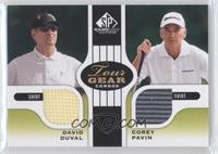 David Duval, Corey Pavin