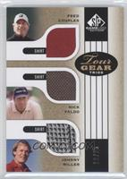 Fred Couples, Nick Faldo, Johnny Miller /25