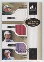 Robert Garrigus, Spencer Levin, Tommy Gainey #/25