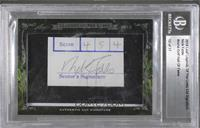 Nick Faldo /17 [Cut Signature]