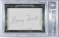 Doug Ford, Mike Weir /4 [BGS AUTHENTIC]
