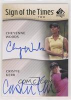 Cheyenne Woods, Cristie Kerr