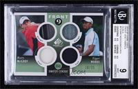 Tiger Woods, Rory McIlroy [BGS9MINT] #/25