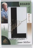 Johnny Miller (Letter 4 - L) [Noted] #/5