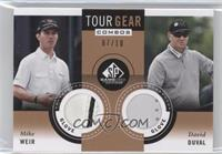 David Duval, Mike Weir /10