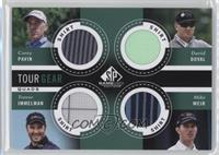 Corey Pavin, David Duval, Trevor Immelman, Mike Weir