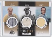 Jack Nicklaus, Byron Nelson, Arnold Palmer /15