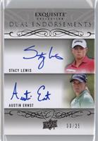 Austin Ernst, Stacy Lewis #/25