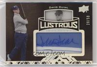 David Duval [Noted] #/50