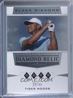 Stars Quad - Tiger Woods #/49
