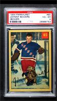 Johnny Bower (Spelled Bowers on Back) [PSA 4 VG‑EX]