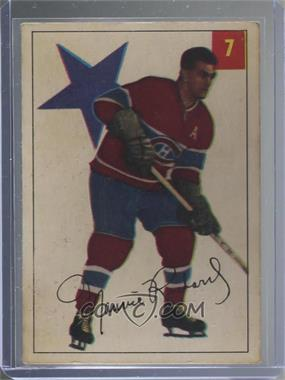 1954-55 Parkhurst - [Base] #7 - Maurice Richard [Poor to Fair]