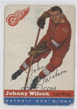 1954-55 Topps - [Base] #4 - Johnny Wilson