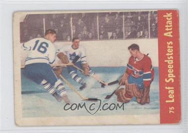 1955-56 Parkhurst - [Base] #75 - Eric Nesterenko, Sid Smith [Good to VG‑EX]