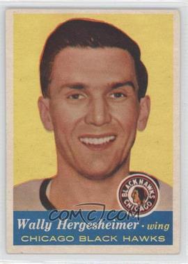 1957-58 Topps - [Base] #33 - Wally Hergesheimer