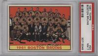 Boston Bruins Team [PSA7NM]