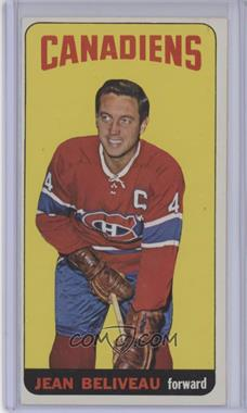 1964-65 Topps - [Base] #33 - Jean Beliveau [Very Good]