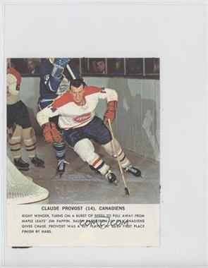 1964-65 Toronto Star NHL Photos - [Base] #CLPR - Claude Provost