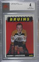Gerry Cheevers [BVG 4 VG‑EX]