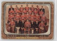 Montreal Canadiens Team [Poor]