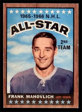 1966-67 Topps - [Base] #131 - Frank Mahovlich [GOOD]