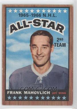 1966-67 Topps - [Base] #131 - Frank Mahovlich [Good to VG‑EX]