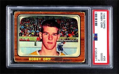1966-67 Topps - [Base] #35 - Bobby Orr [PSA2GOOD]