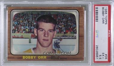 1966-67 Topps - [Base] #35 - Bobby Orr [PSA5.5EX+]