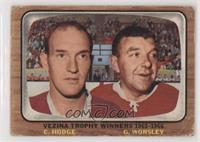 Charlie Hodge, Gump Worsley [NonePoortoFair]