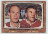 Charlie Hodge, Gump Worsley