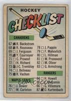 Checklist [PoortoFair]