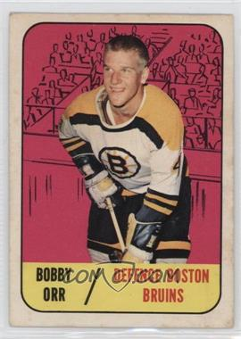 1967-68 Topps - [Base] #92 - Bobby Orr [Poor to Fair]
