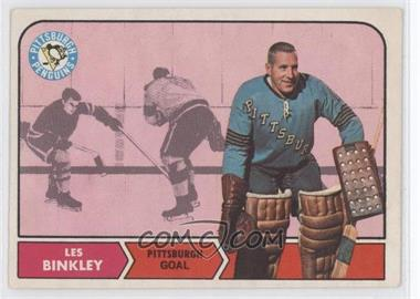 1968-69 O-Pee-Chee - [Base] #100 - Les Binkley