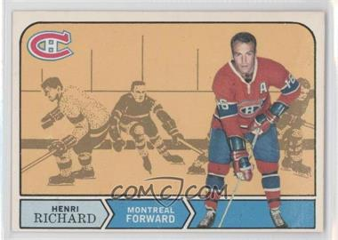 1968-69 O-Pee-Chee - [Base] #165 - Henri Richard