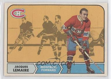 1968-69 O-Pee-Chee - [Base] #63 - Jacques Lemaire