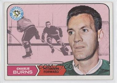 1968-69 Topps - [Base] #108 - Charlie Burns