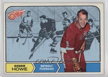 1968-69 Topps - [Base] #29 - Gordie Howe [GoodtoVG‑EX]
