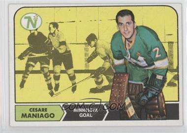 1968-69 Topps - [Base] #45 - Cesare Maniago