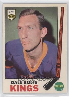 1969-70 O-Pee-Chee - [Base] #100 - Dale Rolfe
