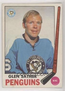 1969-70 O-Pee-Chee - [Base] #116 - Glen Sather