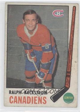 1969-70 O-Pee-Chee - [Base] #166 - Ralph Backstrom