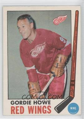 1969-70 O-Pee-Chee - [Base] #61 - Gordie Howe [Good to VG‑EX]