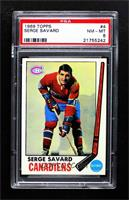Serge Savard [PSA 8 NM‑MT]