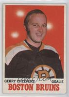 Gerry Cheevers [NoneGoodtoVG‑EX]